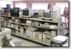 New and used computers, printers, scanners, parts and accessories